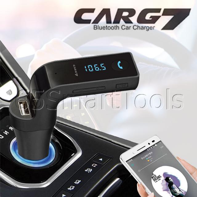 อ ปกรณ เช อมต อบล ธ ทสำหร บรถยนต Bluetooth Connector ร น Car G7